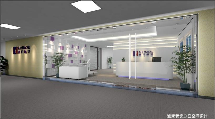 航空公司前厅设计效果图