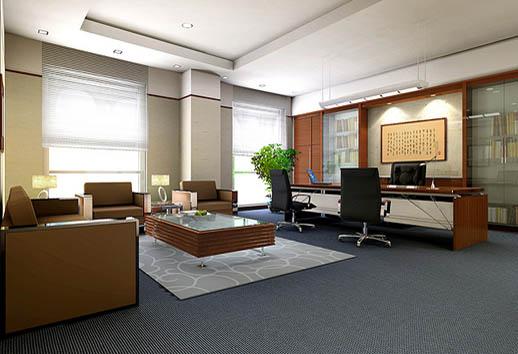 貿易公司辦公室裝修案例