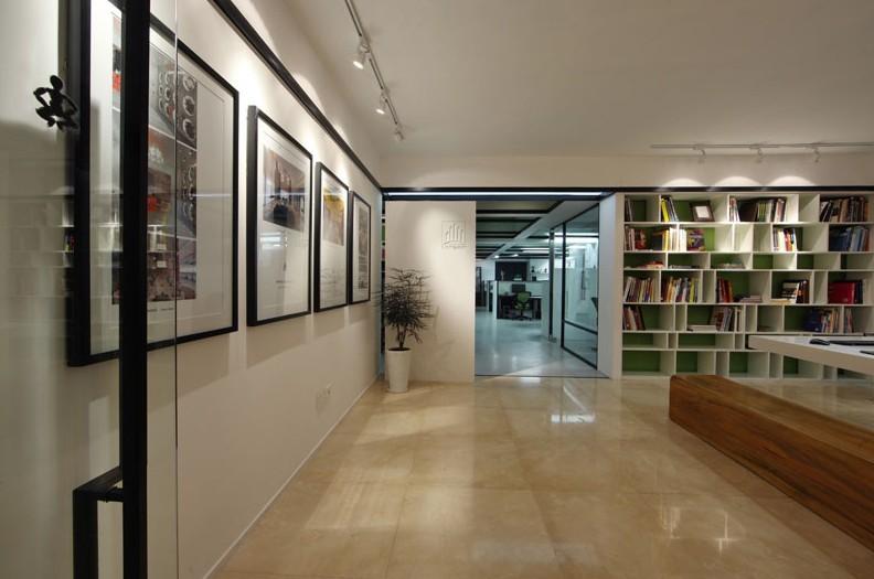 办公室室内整体装修风格