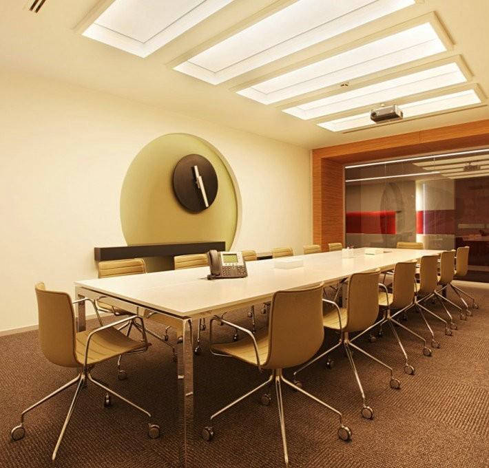 办公空间手绘效果图 办公空间设计案例