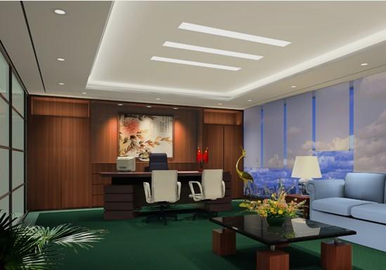 古典风格办公室装修图片