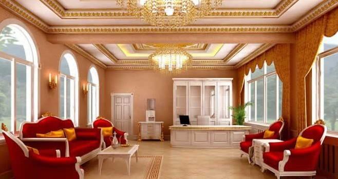 欧式风格办公室装修图片