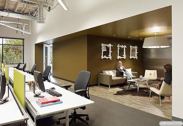 温馨办公室装修图片