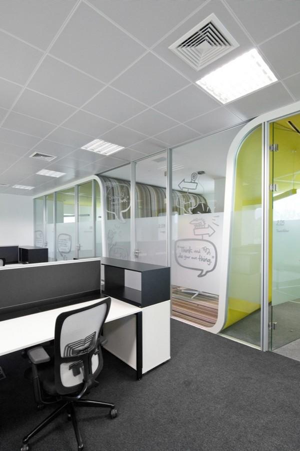 办公室立面设计元素之壁柜,办公室立面设计元素之玻璃间壁,办公室立面