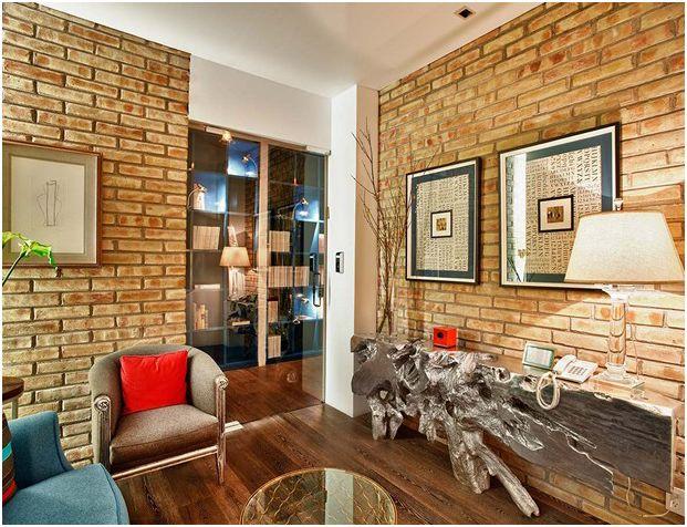 办公室墙面贴瓷砖装修施工