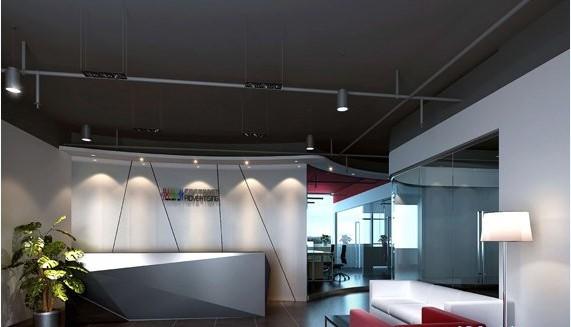 3、同时考虑白天和晚上的艺术效果,特别是晚上开灯后的效果,灯具不仅在晚间使用,它再白天仍存在于室内,这时它不发光,而被自然光所照亮成为办公室室内装饰的一部分。 4、把灯光照明形式和场所使用要求有机地结合起来,在一些办公室展厅中,不同展品要求不同的照明方式,应将它们巧妙地组合起来,创造特别有吸引力的气氛。 5、以灯具的艺术装饰为主,将灯具进行艺术处理。使之具有各种形式满足人们对美观的要求,这种灯具样式很多,布置方法也因具体条件而异,最常见的是吊灯,吊灯集中较多的灯,又在灯架上加以艺术处理,故其高度较大,如