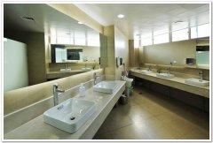 洗手间洗手盆柜装修施工