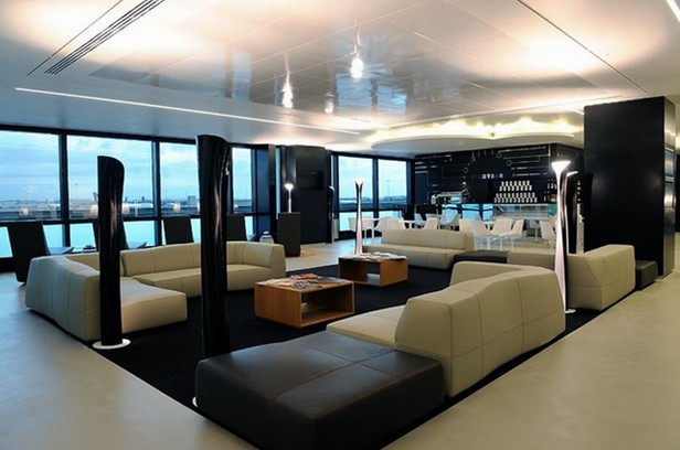 下面上海办公室装修公司小迪给您上传几张航空公司休息区设计效果图就