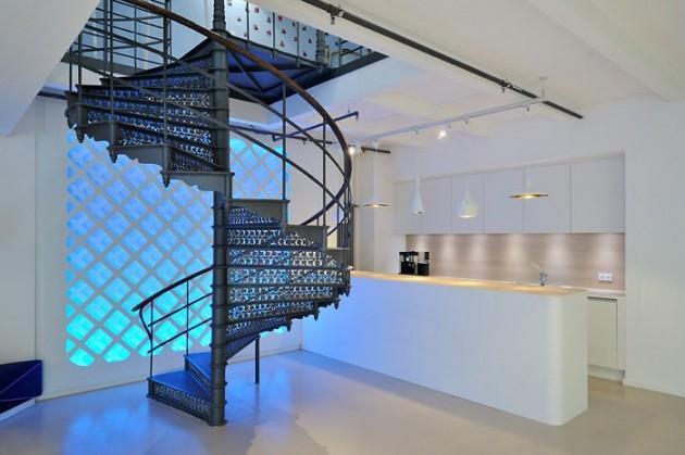 楼梯灯物理电路图
