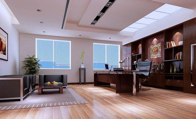 老板办公室背景墙设计效果图
