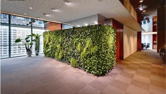 设计 绿化/3、组织空间、引导空间,室内绿化以它特有的形象和色彩,常在...