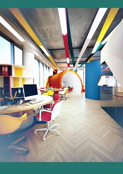 办公室装修主题色彩设计