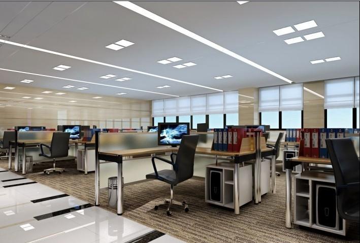 办公室装修 工程案例 财务室   财务室装修效果图案例,财务室效果图是