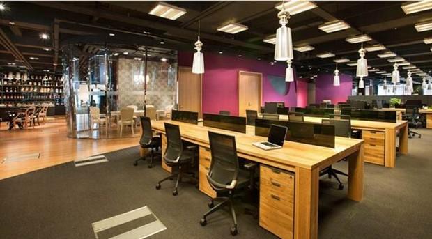 办公室设计目的是激发员工的工作热情,思维和创造力, 让灵感在指尖图片