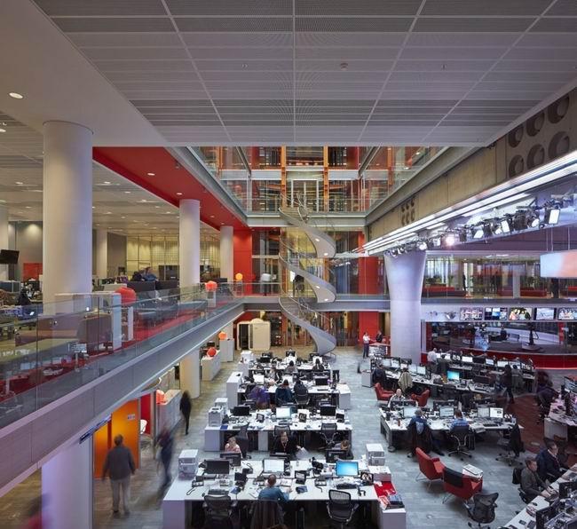 办公室装修 办公空间设计 办公区域设计   大型办公区域设计,在大型