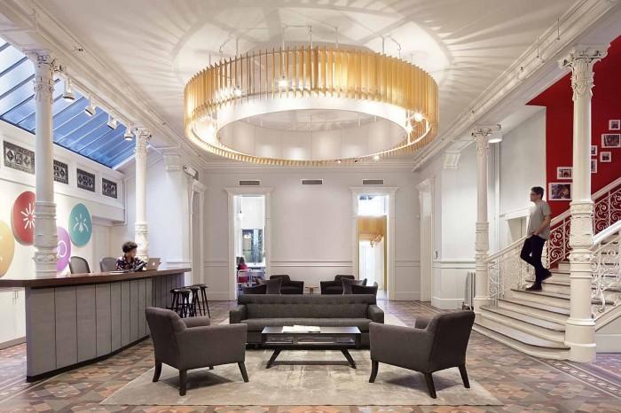 酒店式办公室装修效果图