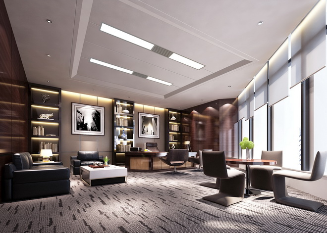 办公楼装修设计方案高清图片
