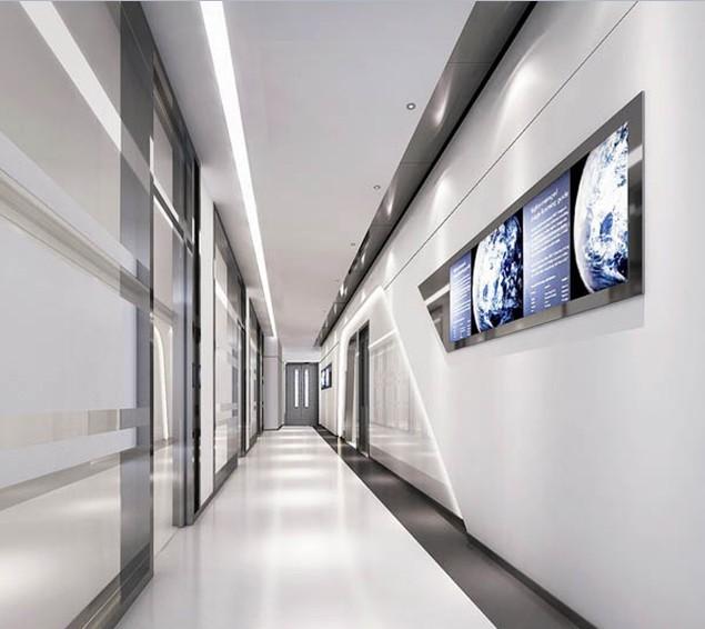 办公室走廊装修效果图 走廊设计方案-过道
