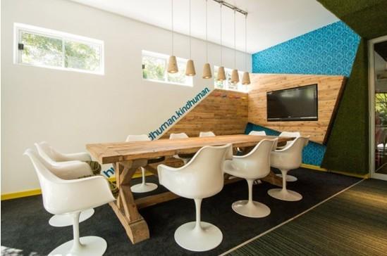 南非风格办公室装修设计高清图片