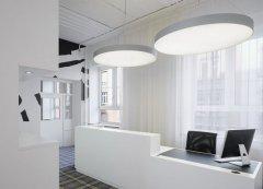 2000平方办公楼装修案