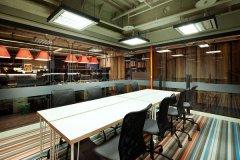 狭长型空间办公室装修