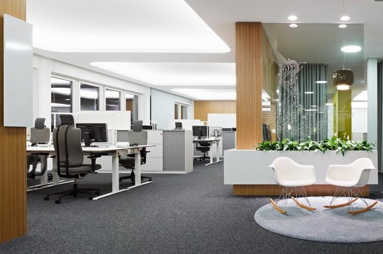 复合式办公空间装修图片