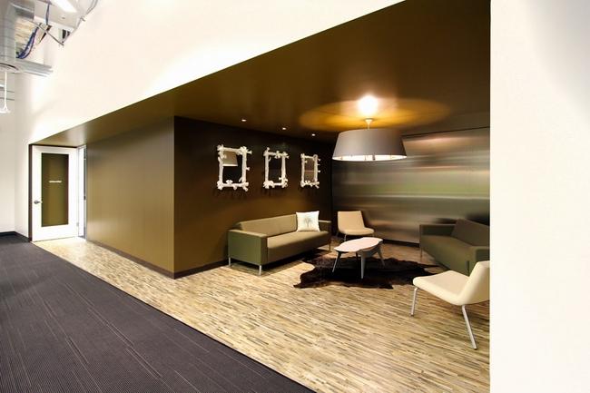 隔断式办公空间设计