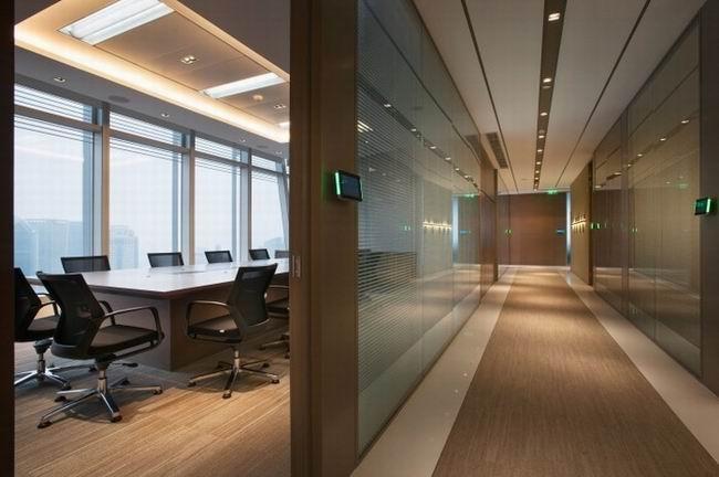 上海咨询公司办公室装修效果图