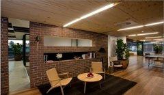 办公室室内绿化的质感运用