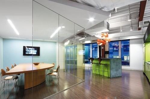 软件开发公司办公室装修