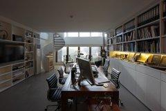现代中式办公室设计