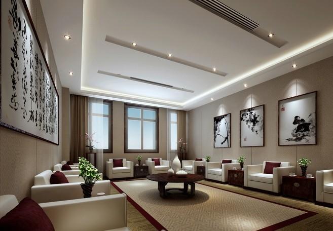 中式风格会议室装修效果图_迪家设计装饰_新浪博客