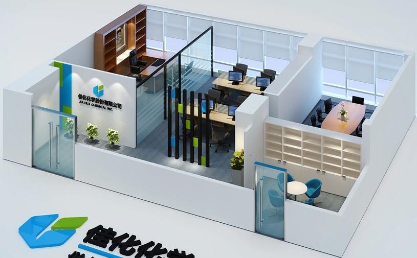 办公室装修鸟瞰图 俯瞰效果图,办公室鸟瞰效果图设计师用高视点透视法从高处某一点俯视地面起伏绘制成的立体图,从高处鸟瞰制图区,比平面图更有真实感,办公室俯视效果图图,物体由上方向下做正投影得到的视图,也叫顶视图,办公室鸟瞰效果图和办公室俯视效果图总属于效果图所以做出来的效果是一样的,下面小迪整理了迪家办公室装修工程中曾经绘制的办公室鸟瞰效果图或办公室俯视效果图.