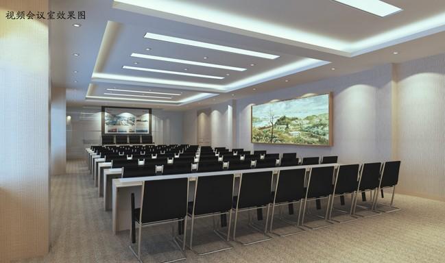视频会议室装修效果图