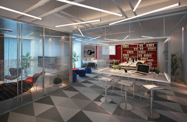 地产集团办公室设计装修