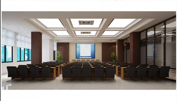 公司会议室装修设计效果图