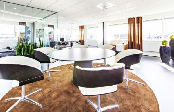 传媒公司办公室设计方案-办公室装修方案
