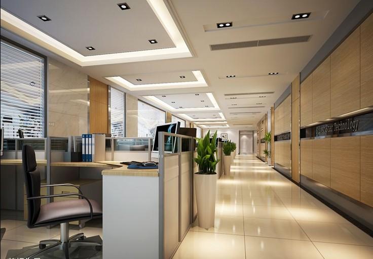让他们感觉公司就像一个家,办公室分部成两个呈长方形的楼层,通信设备