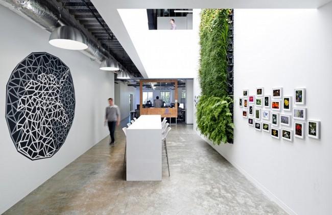 国外办公室天马行空文化墙设计