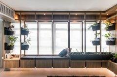 利用飘窗制造室内小花园