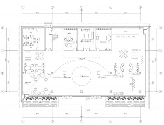 公司布局设计_it服务外包公司的2个办公室的布局图设计