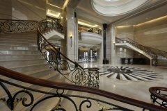 写字楼大厅楼梯设计效果图