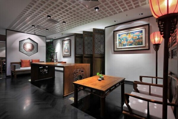 禅意办公空间设计,设计师运用全新的概念设计了