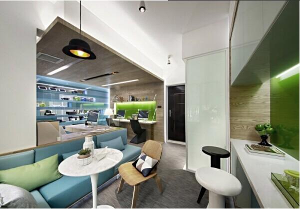30平方米办公室设计案例