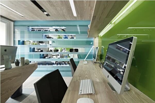 办公室装修 容腾工程 近期工程   30平方米办公室设计案例,小户型办公