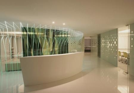化妆品公司办公室内装修