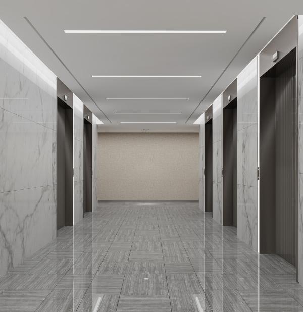 写字楼走道装修效果图,所谓的走廊就是有顶的过道,也是建筑物的水平交通空间,连接着两个较大的地区,设在房屋内两排房间之间的叫内走廊;设在一排房间之外的叫外走廊。走廊装修、走廊吊顶和走廊灯走廊不应该是独立的部门,务必结合整体装修风格。办公楼楼梯进气口设计注意事项所有的生物都是由地向天,楼梯也是由下往上走的,所有一切的布局都是在下而不在上楼梯进气口要注意:楼梯口不面对厕所、楼梯口不面对走出去的门或落地窗、楼梯口不宜正对大门,当楼梯迎大门而立时,可在梯级与大门对面一处放一面凹镜,这样可以把气能反射汇聚回屋内。