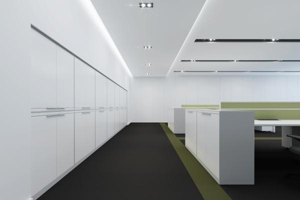 办公室家具配置效果图
