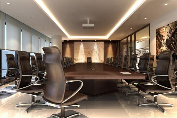 会议室软装设计方案-办公室软装饰