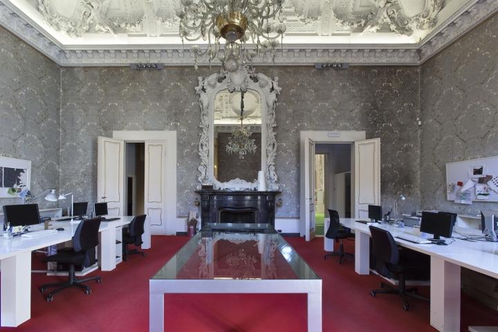 办公室装修 办公室装饰 办公室设计装修   石膏与壁画欧式办公室完美